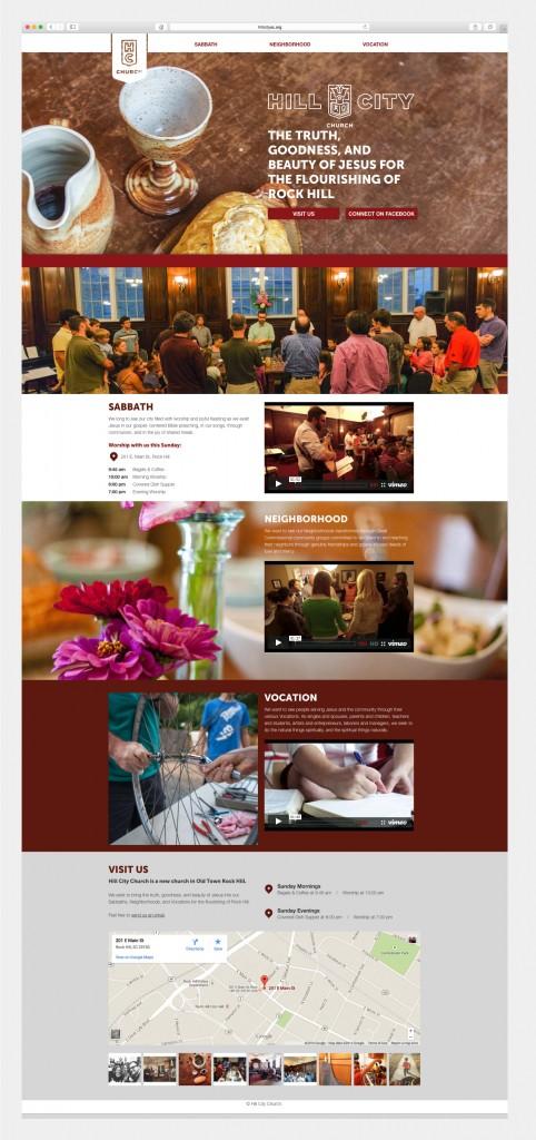 Hill City Church Website